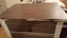 Ikea Hemnes Tallboy Chest Of Drawers Ideal Up Cycle Project