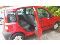 RED FIAT PANDA FOR SALE (IN GREAT CONDITION WITH FULL MOT)