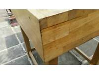 Solid Butchers Block Kitchen Island, Stunning Addition to any kitchen