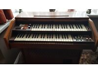 Galanti Group Electronic Organ Keyboard (large free standing) Working condition with stool and books