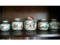 Antique Ginger Jars