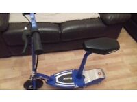 Razor electric scooter almost new