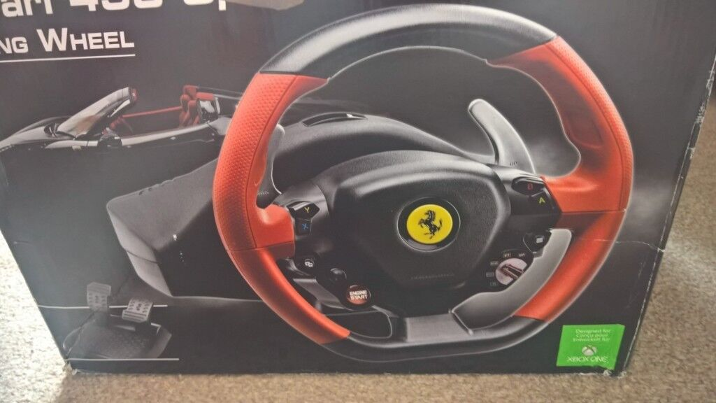 Thrustmaster Ferrari 458 Spider Racing Wheel Setup Forza 7