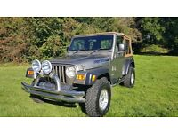 Jeep Wrangler TJ 4.0 lifted, new soft top, towbar, 2 years finance available