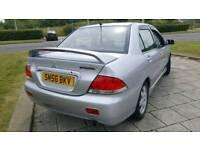 2006 56 Mitsubishi Lancer 1.6 petrol 5 doors + ECONOMICAL + RELIABLE + FULL MOT + SWAP + OR PART EX