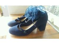 M&S ladies size 6 shoes wide fit and fascinater