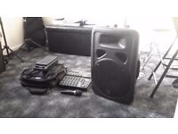 Small PA set up for guitarist or Home karaoke