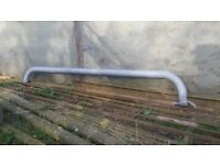 A 5 inch galvanised fill pipe for slurry tanker 4.6m long