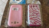 2 Samsung galaxy s3 cases for 10$