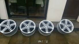 *sold*Audi alloys 19 genuine