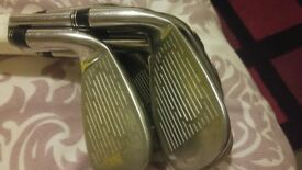 Cobra set of irons 5 to sw. Excellent condition.