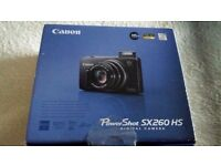 canon power shot SX260 HS CAMERA