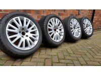 Genuine VW/ AUDI alloy wheels