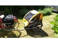 Bike trailer to carry children