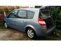 Renault grand scenic 1.6 very low mileage clean like new car no mark on body full service history