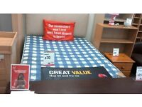Double Divan Bed with Mattress at BHF Glasgow