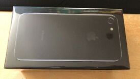 Brand New Sealed iPhone 7 32gb Jet black and unlocked to all networks.