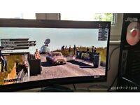SAMSUNG C27F390 27inches 4ms AMD FREESYNC CURVED MONITOR - BLACK