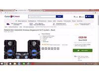 Panasonic SC MAX 4000 Hifi Stereo 2,400 Watts