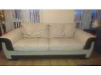 Leaher 2-seater sofa from DFS