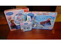 Frozen Games and puzzles (Snakes and ladders, Memory, Glitter Puzzle)