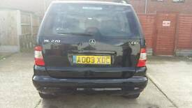 For sale my Mercedes Benz Ml