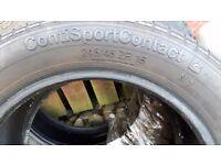 Part worn tyres 245/45/16 £30