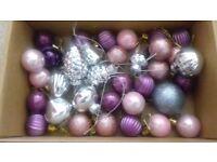 Bundle of small xmas decorations