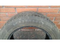 255/55/R16, 91 V, KHUMO TYRES PAIR 5mm thread depth over both £60 ono