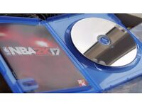 PS4 game NBA 2k17 (code wasn't used) - condition like NEW