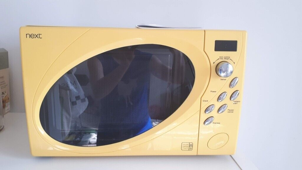 Yellow Next Microwave In Streatham Common London Gumtree