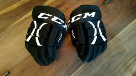 CCM youth ice hockey gloves