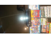 Wii U with 5 games and 19 Wii games. £170