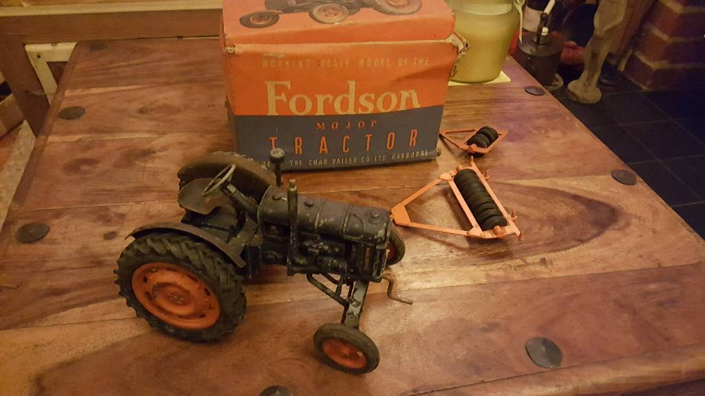 Chad valley fordson major tractor (1940's)