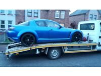 BREAKDOWN RECOVERY CAR TRANSPORT SERVICES Gateshead chester le street Durham stanley Washington