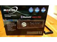 Maxtek Bluetooth Car stereo