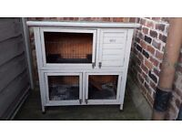 Two-Tiered Rabbit Hutch For Sale