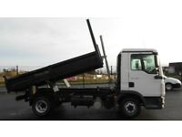 2013 MAN TGL SERIES 7.180 WITH BRAND NEW DROPSIDE 1 WAY TIPPER BODY. FULL TEST. JUST SERVICED.