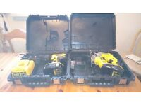 Dewalt 18v Cordless power tools set, DRILL/JG SAW/BATTS/CHARGER/BOXES, see photos & details