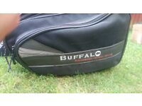 Buffalo Soft luggage panniers and magnetic tank bag