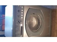 Hotpoint front loader. Silver.