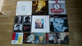 11 x carmel vinyls 4 x lps / promo / singles
