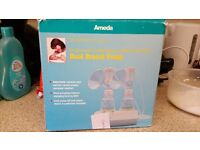 Double breast pump - electric