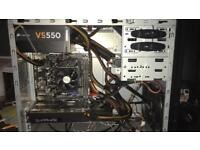 Gaming PC Quad core CPU 1tb storage