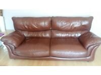 Sofa 3 and 2 leather