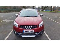Nissan Qasqai+2 Dci 1.5 Diesel, Chery Red Sport