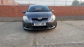 2007 Toyota Auris 1.6 VVT-i TR 3dr - low mileage - 12 months mot