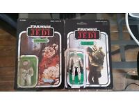 Resealed Star Wars figures