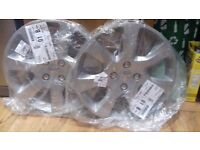 Peugeot wheel trims x 2 new