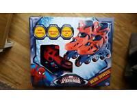 Marvel Ultimate Spiderman Inline Skates Rollerblades BRAND NEW